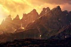 Dolomites - Italie photo libre de droits