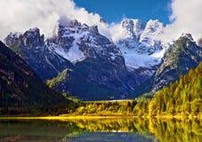 Dolomites Italie Photographie stock