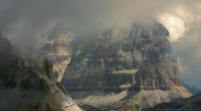 Dolomites, Italie Photographie stock