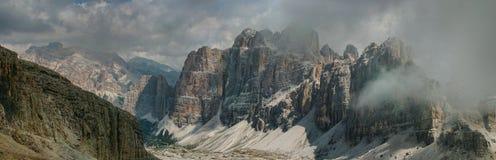 Dolomites, Italie Photos libres de droits