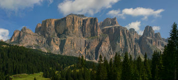 Dolomites, Italie photo stock