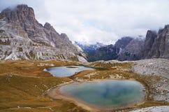 Dolomites Italien Arkivbild