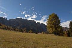 Dolomites Italien Arkivfoton