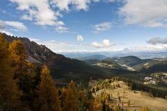 Dolomites Italien Fotografering för Bildbyråer