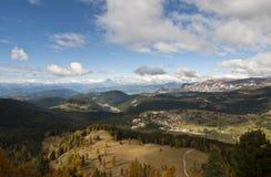 Dolomites Italien Arkivfoto