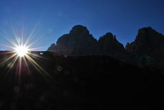 Dolomites italiennes Photos stock