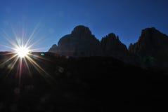 Dolomites italiennes Photos stock