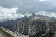 Dolomites italiennes, Image stock