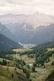 Dolomites italiennes Images libres de droits