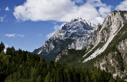 Dolomites italiennes Image libre de droits