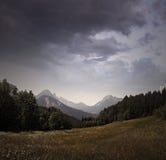 Dolomites italiennes Image stock