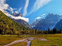Dolomites Italy Imagem de Stock