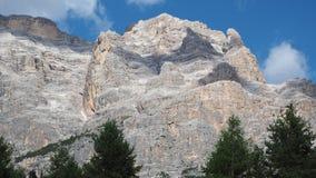 Dolomites, Italy. Amazing landscape at Fanes mountain range in summer stock photography