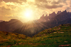 Dolomites - Italy Royalty Free Stock Photos