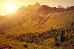 Dolomites - Italy Stock Image