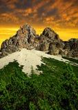 Dolomites - Italy Royalty Free Stock Photography
