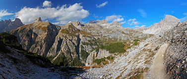 Dolomites - Italy mountain Stock Image