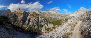 Dolomites - Italy mountain Stock Image