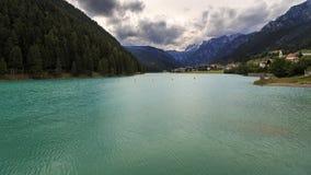 Dolomites lake Royalty Free Stock Photos