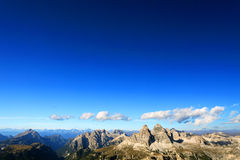Dolomites Landscape Royalty Free Stock Photo