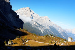 Dolomites landscape Stock Photos