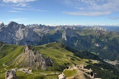 Dolomites landscape royalty free stock images
