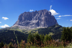 Dolomites Landscape. In a sunny day Royalty Free Stock Photography