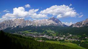 Dolomites landscape. Italy Royalty Free Stock Photography