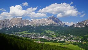 Dolomites landscape. Italy Royalty Free Stock Photos