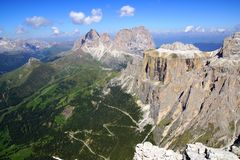 Dolomites landscape. Italy Royalty Free Stock Images