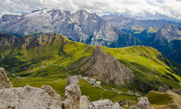 Dolomites landscape Royalty Free Stock Photography