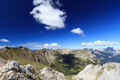 Dolomites landscape on summer Royalty Free Stock Photography