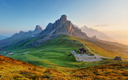 Dolomites landscape Royalty Free Stock Photos
