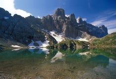 Dolomites lanscape Stock Image