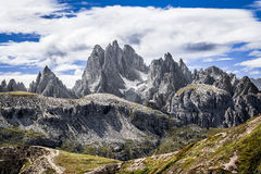 Dolomites. At the light of day Royalty Free Stock Images