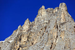 The Dolomites. Look at the mountaintops of the Dolomites Royalty Free Stock Photo