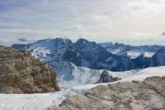 Dolomites Marmolada Stock Image