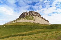 Dolomites - montagem de Castellazzo Fotos de Stock