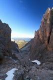 Dolomites at morning Stock Photography