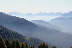 Dolomites in the Morning Royalty Free Stock Photo