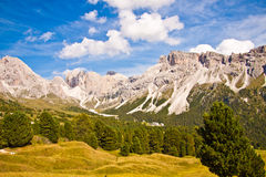 Dolomites mountain Royalty Free Stock Images