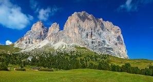Dolomites mountain Stock Photo