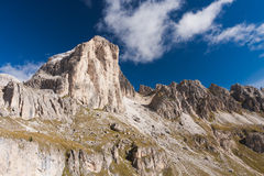 Dolomites Mountain Formation Royalty Free Stock Images
