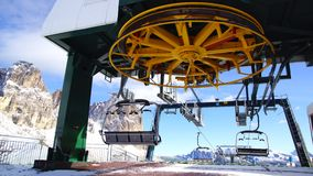 Dolomites mountain in the Italian Alps. Stock Photos