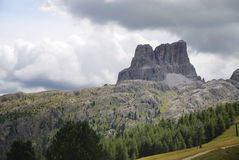 Dolomites Mountain Landscape. Mountain landscape in the Dolomites (Italy Royalty Free Stock Photography