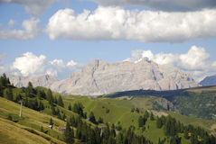 Dolomites Mountain Landscape. Mountain landscape in the Dolomites (Italy Royalty Free Stock Photo