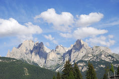 Dolomites Mountain Landscape. Mountain landscape in the Dolomites (Italy Royalty Free Stock Images