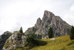 Dolomites Mountain Landscape. Mountain landscape in the Dolomites (Italy Stock Photos