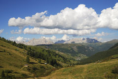 Dolomites Mountain Landscape. Mountain landscape in the Dolomites (Italy Royalty Free Stock Photos