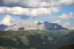 Dolomites Mountain Landscape Stock Photo